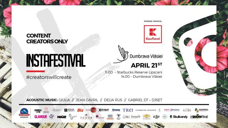 Instafestival – Evenimentul primaverii | Primul festival dedicat instagrammerilor din Romania