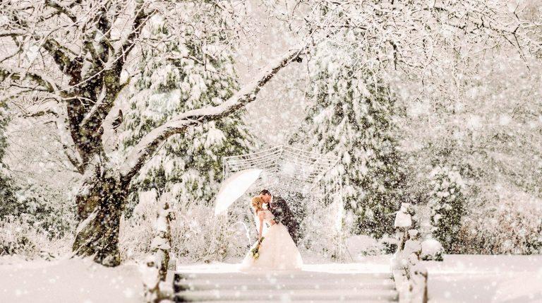 Sfaturi pentru nunți de iarnă fără intemperii